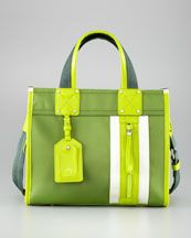 Maybe, maybe not -- L8132 Milly Nautical Nylon Tote