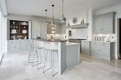 Grey Family Kitchen – Tom Howley
