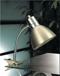 Cheap Dorm Supply - Steel Dorm Clip Lamp - Dorm Room Lighting Essential