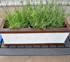 Centsational Girl » Blog Archive Mosaic Tile Window Box Planter - Centsational Girl