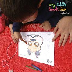 @unamamabloguera compartió esta foto con nosotros del taller @mylittlebookbox al #mónllibre14