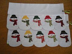 Boneco de Neve (Patchrosa) Tags: christmas natal patchwork bonecodeneve panodeprato patchrosa                                                                                                                                                     Mais
