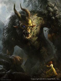 Demonic Babarian by MikeAzevedo on deviantART