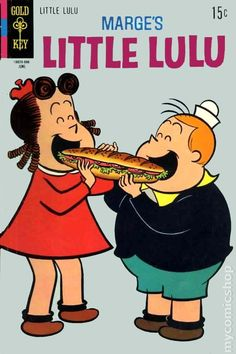 Little Lulu #196 - Published June 1970 by Dell/Gold Key