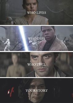 Star Wars Who lives who dies who tell your story? #starwars
