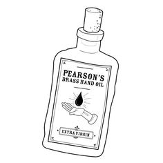 Try the all-new effervescent Pearson's Brass Hand Oil only available at @athleticomince . . . #illustration #linedrawing #football #bobmortimer #andydawson #athleticomince #podcast #draw #drawing #instaart #art #brasshand #sketch #doodle #vector #surreal #comedy #sketching #drawcast #vectorart #myart #graphicdesign #funny #illustrator #apothecary #brasshandoil