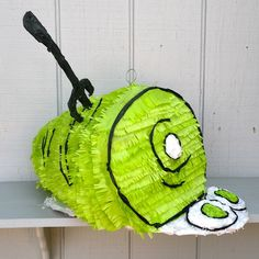 This Green Eggs and Ham pinata would make a great addition to any Seuss party.
