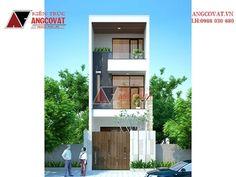 Thiết kế nhà phố mặt tiền 4.5m 3 tầng diện tích 80m2 giá 1 tỷ...