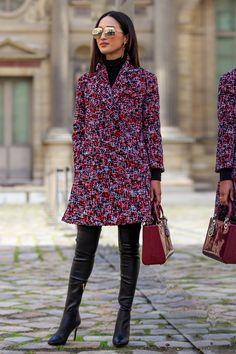 Nicole Warne - Fall 2016 Paris Fashion Week Street Style - Day 3 - March 2016