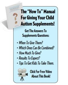 Free Autism Supplement Videos from Dr. Kurt Woeller