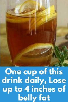 One cup of this drink daily, Lose up to 4 inches of belly fat Nowadays, there are many different diets. They all promise fast results, but not all of them are successful. Luckily, this article will present you a miraculous water which will help you lose 4 kilograms in 1 week and reduce your waist size for up to 4 inches! Ingredients: 1 lemon 8 cups of filtered water …