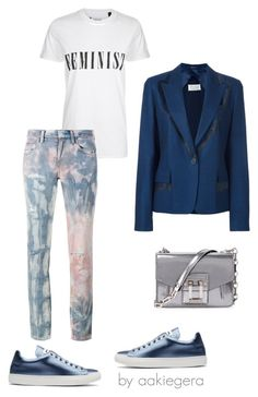 """Parole, parole"" by aakiegera on Polyvore featuring мода, Jil Sander, Tee and Cake, Proenza Schouler, Maison Margiela и Faith Connexion"