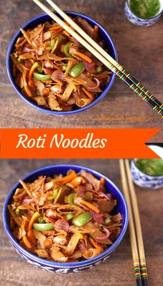 This Is As Healthy Noodles Can Get We Have Replaced Store Bought With Roti Chapatti Parantha