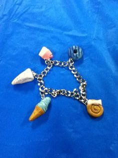 Sweets bracelets polymer clay hand made