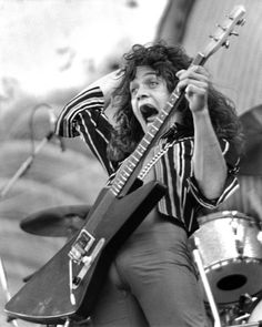 Eddie Van Halen 1978 by Taylor Player, via Flickr
