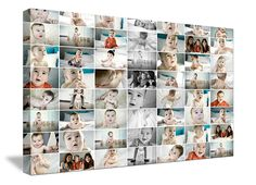 your kids photo printed on canvas