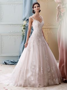 Mon Cheri Bridal offers wedding dress collections from designers like Martin Thornburg, Sophia Tolli, & more. Find your perfect ballgown wedding dress! Wedding Dress Organza, Lace Ball Gowns, Wedding Dresses With Straps, Pink Wedding Dresses, Sweetheart Wedding Dress, Princess Wedding Dresses, Perfect Wedding Dress, Ball Dresses, Bridal Dresses