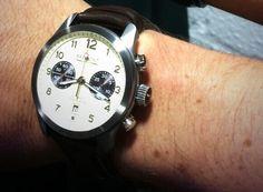 Ben Shephard's new Bremont ALT1-C #bremont British Watchmakers London #horlogerie @calibrelondon