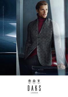 Daks fall winter 2015 menswear campaign