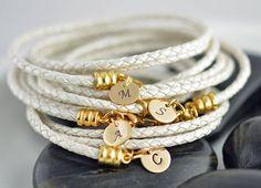 Custom Initial Bracelets, Personalized Bridesmaid Gift, Customized Bridesmaid Gifts, Personalized Bridesmaid Bracelet