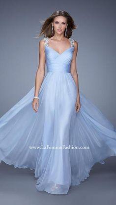db722ff65d8 La Femme 20448. Blue Wedding DressesProm ...