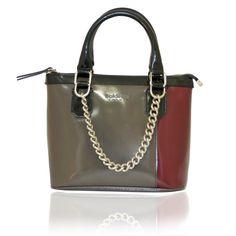 Baldinini - skórzana lakierowana torebka - SALE! Adidas, Shoulder Bag, Bags, Fashion, Handbags, Moda, Fashion Styles, Shoulder Bags, Fashion Illustrations