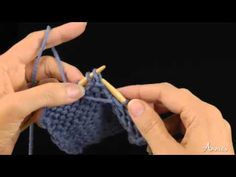 Slip, Slip, Purl (ssp) How to Decrease: Learn how to knit the ssp stitch with this free video from AnniesCatalog.com.
