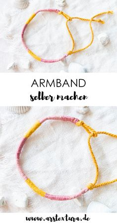 Make a simple friendship bracelet yourself ars textura . - Make a simple friendship bracelet yourself ars textura … – Make a simple friendship bracelet yo - Diy Jewelry Rings, Diy Jewelry Unique, Diy Jewelry To Sell, Diy Jewelry Holder, Diy Jewelry Tutorials, Diy Jewelry Making, Make Your Own Bracelet, Diy Jewelry Inspiration, Diy Blog
