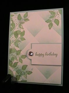 Summer Birthday - Stamp Class 8/13 by susie nelson - Cards and Paper Crafts at Splitcoaststampers