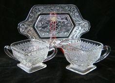 Dugan Diamond Carnival Glass Horse Head Pony Marigold By