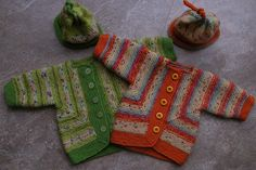 Ravelry: Project Gallery for Baby Surprise Jacket pattern by Elizabeth Zimmermann