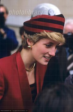 October 21, 1986: Princess Diana opens a new Gallery representing Discovery and Sea Power 1450-1700 at the National Maritime Museum in Greenwich, London.