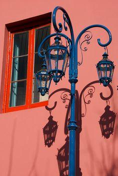 La sombra de los faroles, Buenos Aires.