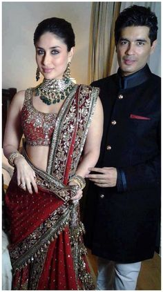 Manish Malhotra dresses for Kareena on here wedding'