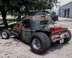 Rat Rod Cars, Hot Rod Trucks, Cool Trucks, Cool Cars, Semi Trucks, Big Trucks, Rat Rod Pickup, Pickup Trucks, Dually Trucks