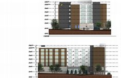 The Element Hotel - proposed for north side of the Beaucatcher Mountain tunnel