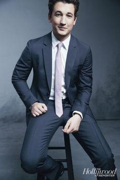 "Miles Teller on 'Divergent': ""I Was Feeling Dead Inside; I'd Taken the Film for Business Reasons"" Miles Teller Divergent, Dressed To The Nines, The Hollywood Reporter, Hot Actors, Matthew Mcconaughey, Famous Men, Celebs, Celebrities, Celebrity Style"