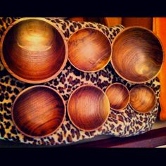 Walnut Bowls I turned on my Lathe.  They almost glow they're so smooth.  Finish is walnut oil.