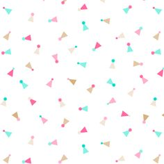 party hats fabric by heleenvanbuul on Spoonflower - custom fabric