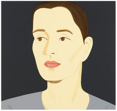 Alex Katz, 'Vivien,' 2012, Meyerovich Gallery