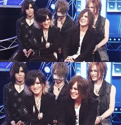 12月 28th, 2014  the gazette: ruki, uruha, aoi, reita, kai