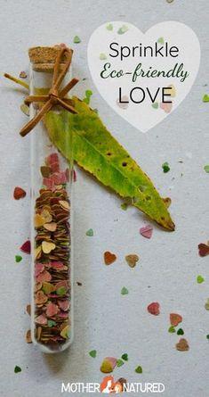 Eco-friendly Confetti I love this idea!