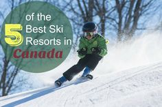 5 of the Best Ski Resorts in Canada - Tales of a Ranting Ginger Ski Canada, Best Ski Resorts, Best Skis, Family Destinations, Best Places To Travel, Tween, Trip Planning, Family Travel, Skiing