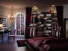 diseño moderno con cortinas