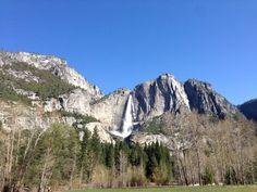 Yosemite Falls in early summer.