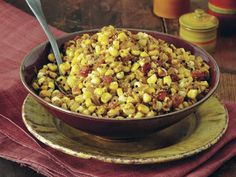 Sweet Corn with Toasted Coconut (Thénga Makkaí) from 'Indian Cooking Unfolded'