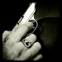 Scarfo Black Diamond Ring