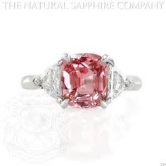 natural pink sapphire rings - Yahoo Image Search Results