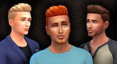 Mystufforigin: Short Shaved Conversion  - Sims 4 Hairs - http://sims4hairs.com/mystufforigin-short-shaved-conversion/