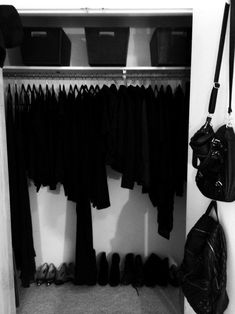 My dream closet but it has some denim and flannel here and there.